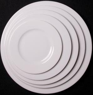 Lubiana Roma 10.5 Inch (27cm) Round Plate
