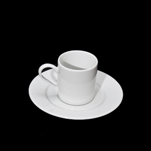 Lubiana Roma Coffee Can And Saucer
