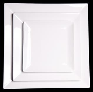 Lubiana Classic Square Plate 27cm